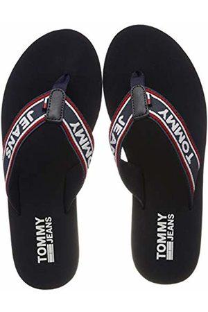 Tommy Hilfiger Women's POP Webbing MID Beach Sandal Flip Flops