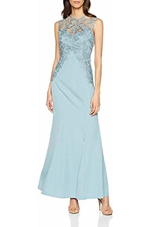 Little Mistress Women's Lizzy Crochet Lace Maxi Dress Glacier