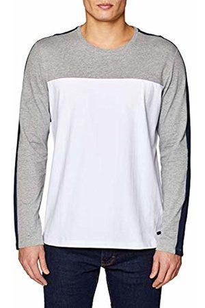 Esprit Men T-shirts - Men's 029CC2K039 Longsleeve T-Shirt, (Medium 035)