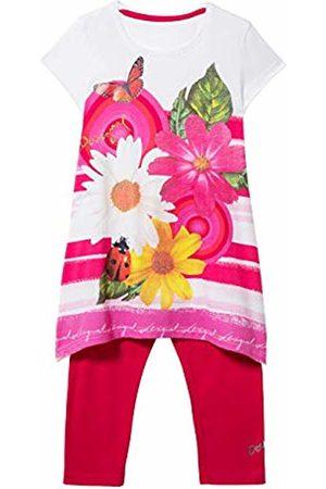Desigual Girl Knit T-Shirt Short Sleeve (Pack_tamarindo)