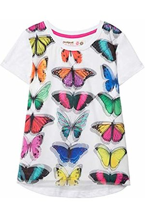 TS/_Bismarck Desigual Girl Knit T-Shirt Short Sleeve Bambina