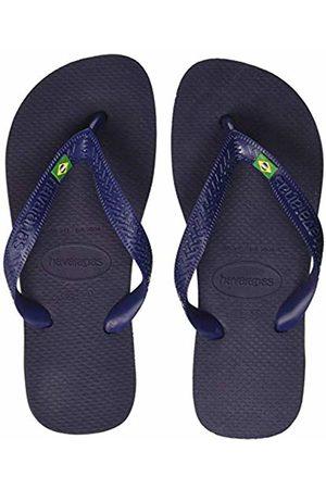 Havaianas Unisex Adult's Brasil Flip Flops, (Navy )