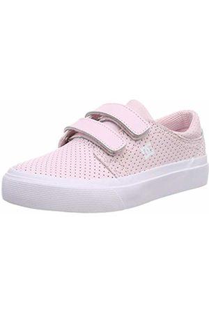 DC Girls' Trase V Se Skateboarding Shoes, ( Pnk)