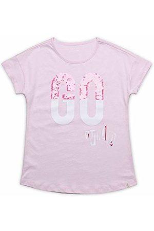 Esprit Kids Girls' T-Shirt SS Go W Rosa (Blush 310)