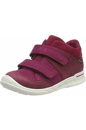 Ecco Girls' First Hi-Top Trainers, Plum/Morillo 51289