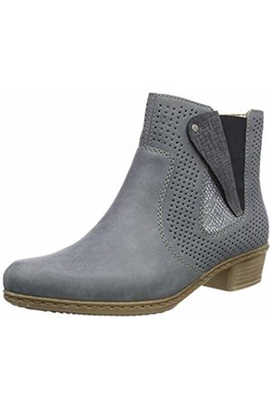 Rieker Women's Y0757-12 Chelsea Boots, Adria/Jeans 12