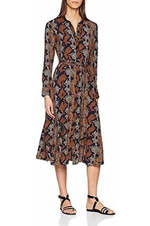 warehouse Women's Snake Shirt Dress, ( Print 14)