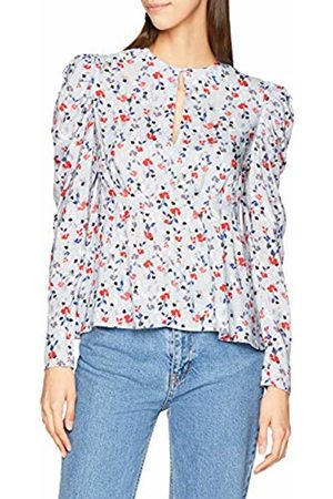 Lost Ink Women's Blouse in Floral Print (Multi 0088)