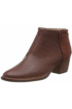 Clarks Women's Spiced Ruby Ankle Boots (Tan Combi Leather -) 6.5 UK