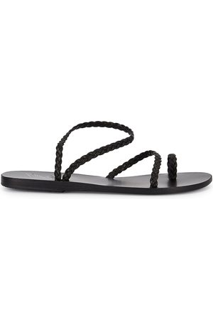 Ancient Greek Sandals Women Sandals - Eleftheria Plaited Leather Sandals