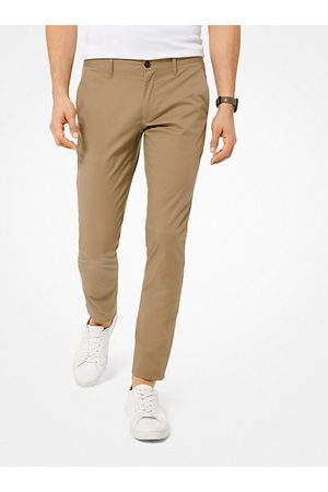 Michael Kors Skinny-Fit Stretch-Cotton Chinos