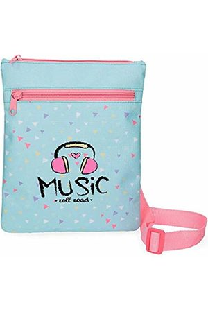 Roll Road Music Messenger Bag 24 Centimeters 0.24 (Azul)