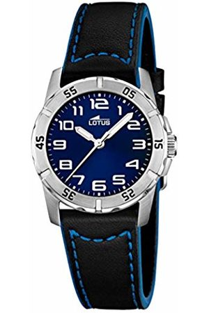 Lotus Boys Analogue Quartz Watch with Leather Strap 15945/B