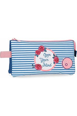 Roll Road Rose Beauty Case 22 centimeters 1.32 (Azul)