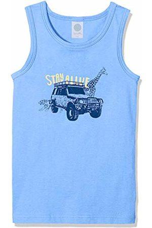 Sanetta Boy's Shirt W/o Sleeves W.Print Vest, ( Sea 5673)