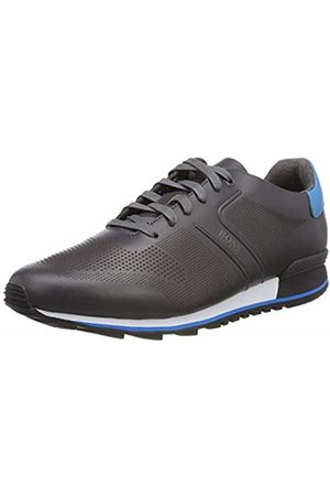 HUGO BOSS Men's Parkour_Runn_ltls Low-Top Sneakers, (Dark 021)