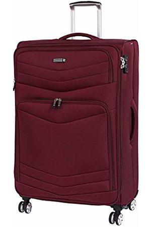 IT Luggage Intrepid 8 Wheel Lightweight Semi Expander Large with TSA Lock Suitcase, 80 cm