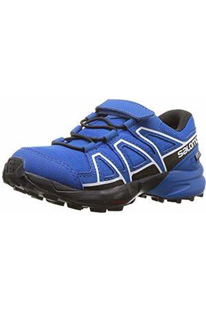 Salomon Unisex Kid's Speedcross CSWP K Trail Running Shoes, Indigo Bunting/Sky Diver/