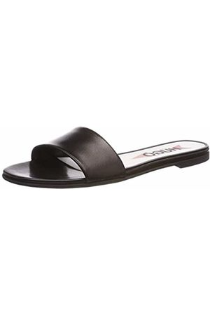 HUGO BOSS Women's Austin Slide-C Mules, ( 001)