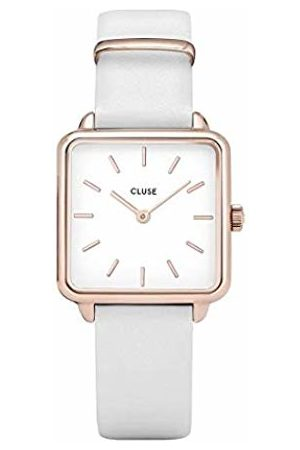 Cluse Womens Analogue Classic Quartz Watch with Leather Strap CL60006