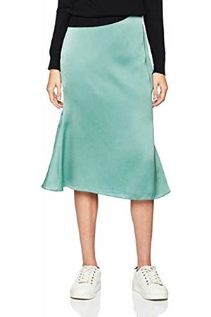 Glamorous Women's Satin Look Skirt Sea N