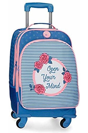 Roll Road Rose School Backpack 44 centimeters 29.57 (Azul)