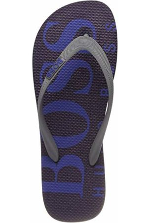 HUGO BOSS Men's Wave_thng_Digital Flip Flops, (Open 462)