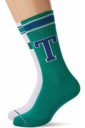 Tommy Hilfiger Men TH Patch Sock 2P