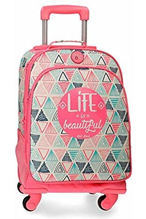 Roll Road Life School Backpack 44 Centimeters 29.57 (Multicolor)