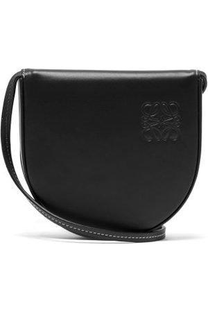 Loewe Heel Small Leather Pouch - Mens