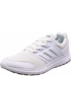 adidas Men's Galaxy 4 Running Shoes, Bianco FTWR