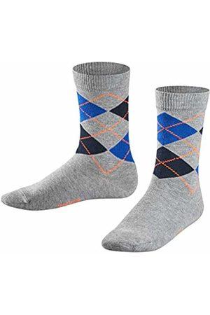 Falke Boy's Classic Argyle Calf Socks