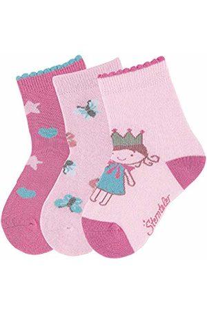 Sterntaler Baby Girls' socks 3-pair pack (Rosa 702))