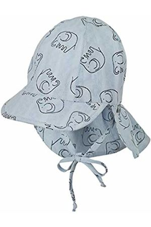 Sterntaler Boys Hats - Boy's Cap with Visor and Neck Protection (Himmel 325)