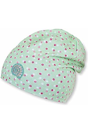 Sterntaler Baby Girls' Slouch Beanie Hat Turquoise (Mintgrün 409)