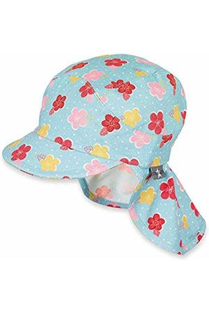 Sterntaler Girl's Cap with Visor and Neck Protection