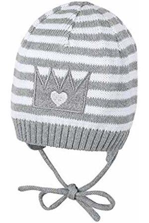 Sterntaler Baby Girls' Bonnet Tricoté Cap