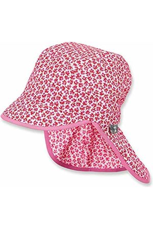 Sterntaler Baby Girls' Cap with Visor and Neck Protection (Feuerrot 807)
