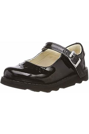 Clarks Girls' Crown Jump T Loafers, ( Patent-)