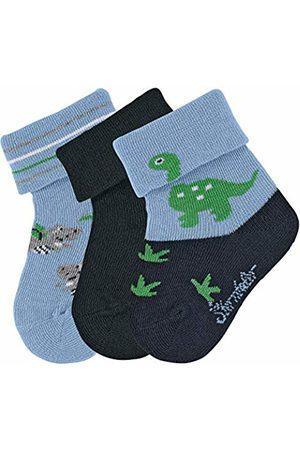 Sterntaler Baby Boys' Socks 3-Pair Pack