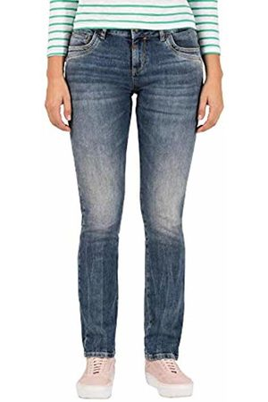 Timezone Women's Slim Tahilatz Straight Jeans, ( Worn wash 3264)