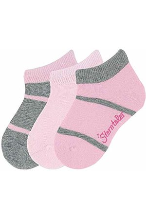 Sterntaler Girl's sneaker socks 3-pair pack (Silber Mel. 542) 2-3 Years (Size:26)