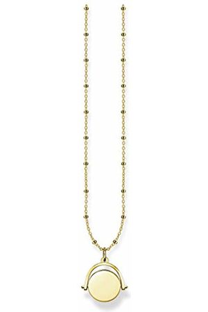 Thomas Sabo Disc Plated Yellow Adjustable Necklace Length 40-45cm
