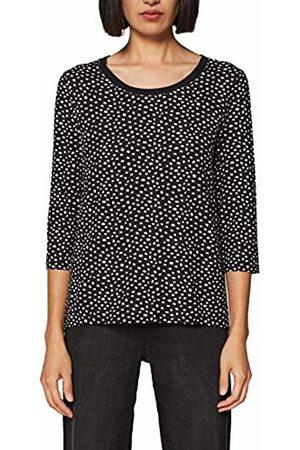 Esprit Women's 029EE1K018 Longsleeve T-Shirt, ( 001)
