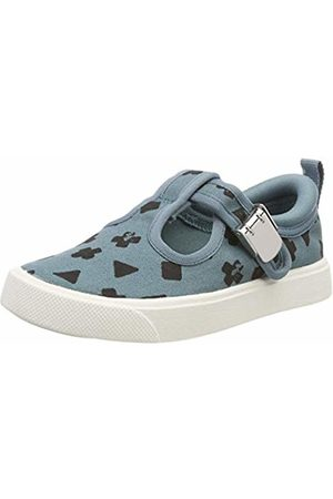 Clarks Girls' City Spark T Low-Top Sneakers, (Teal Combination-)