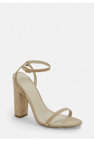 Missguided Faux Suede Heel Sandals
