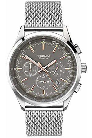 Sekonda Mens Multi dial Quartz Watch with Stainless Steel Strap 1490.27