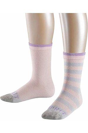 Esprit Girl's Stripe Logo Calf Socks)
