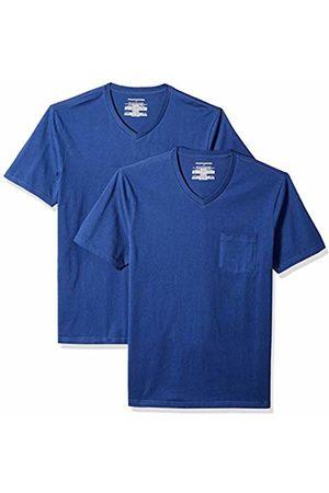 Amazon Essentials 2-Pack Slim-Fit V-Neck Pocket T-Shirt
