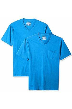 Amazon Essentials 2-Pack Slim-Fit V-Neck Pocket T-Shirt Imperial
